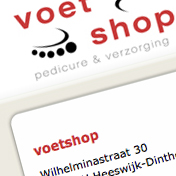 Website voetshop